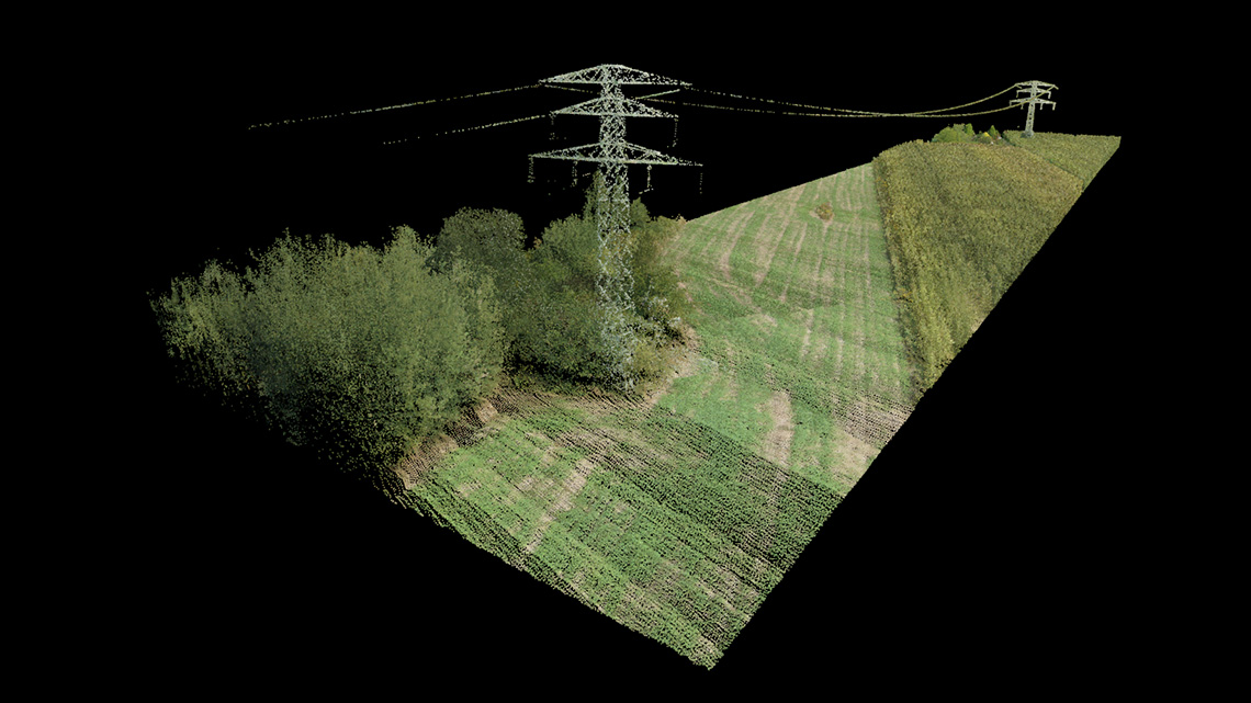 LiDAR3D - Analysis and engineering purposes